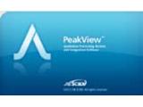 解析质谱谱图数据的软件Sciex PeakView™