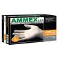 美国AMMEX爱马斯一次性乳胶手套(标准型,无粉,麻面防滑)