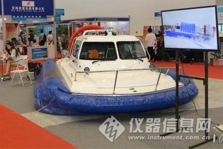 防灾减灾应急产业博览会中的科学仪器身影
