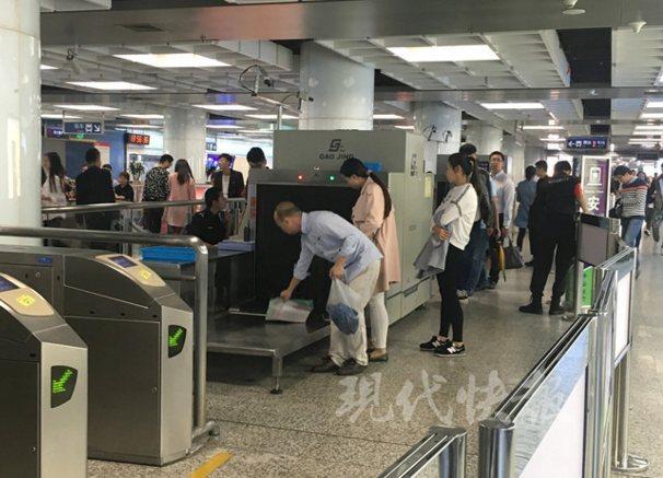 地铁安检陷辐射门 南京地铁安检仪全面做检测