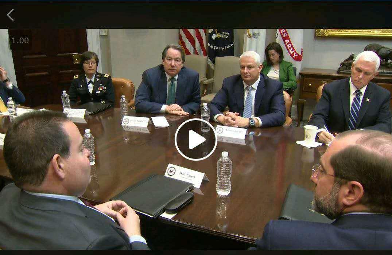 美副总统会见赛默飞、LabCorp、Quest三位CEO谈新冠病毒检测对策