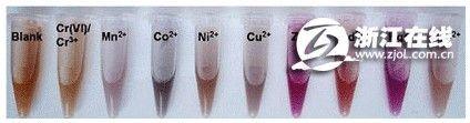 重金属快检新法:紫外可见光谱+比色检测