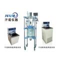 双层玻璃反应釜/夹套式玻璃反应釜/实验中型双层玻璃反应器
