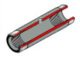 PE原吸石墨管,无涂层 (原厂货号:B0137113 / B3001253 / B0070699)