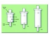 双向固相萃取空管,非氟聚丙烯