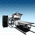 屋顶材料火反应性试验装置