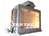 大型垂直构件液压倾摆耐火性测试炉EN1363-1、ISO 834、GB9978