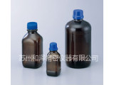茶褐色玻璃瓶(带有防玻璃破碎飞散的薄膜)