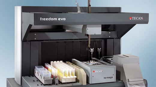 Tecan Freedom EVO核酸提取工作站