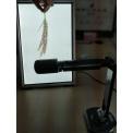 万深水稻麦穗穗�长-茎粗-茎叶角自动测量仪