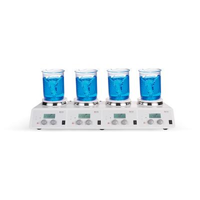 LCD数控 加热型 四通道 磁力搅拌器