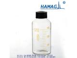 250ml带刻度顶空瓶玻璃样品瓶配空心旋盖进样瓶色含隔垫