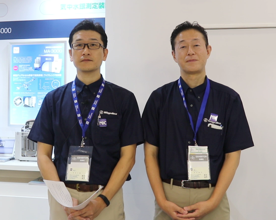 40余年只专注汞检测  看好中国环境检测市场 ――JASIS2019视频采访NIC安田隆志和高岛大辅