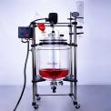 防爆双层玻璃反应釜EXHEB-50L