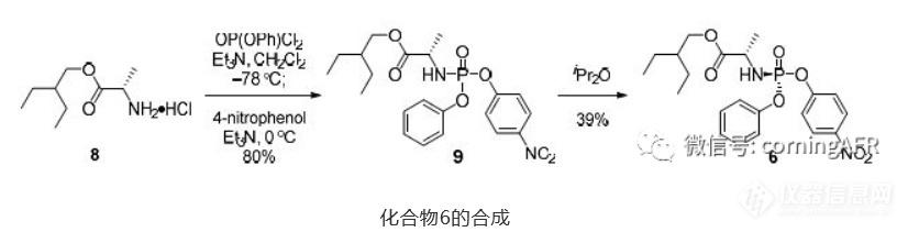 化合物6的合成.png
