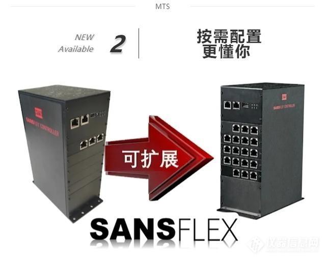 MTS-SANSFLEX新控制器发布,欢迎收看全新功能解析
