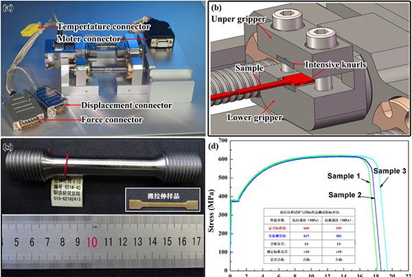 扫描电镜纳米分辨高温力学原位仪器研究获新进展