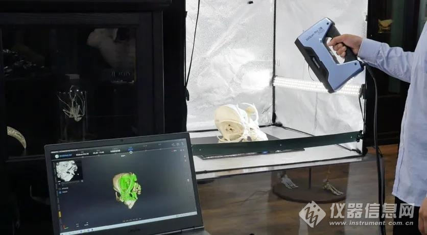 利用手持扫描仪进行头骨数据获取.jpg