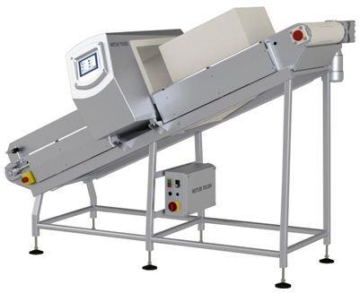 传输带式金属检测系统